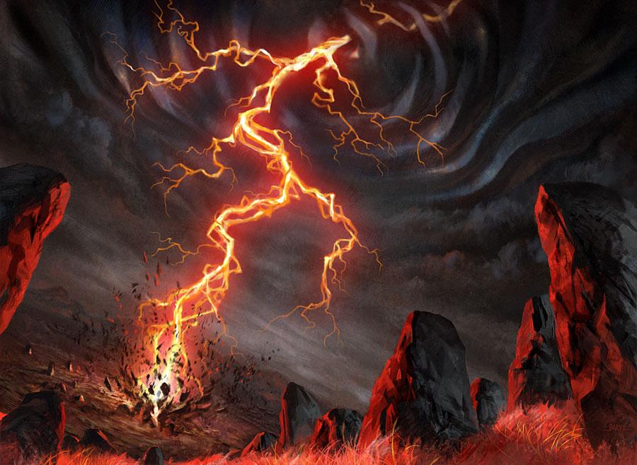 ... Art Red Daniel ljunggren art blog: another magic card released